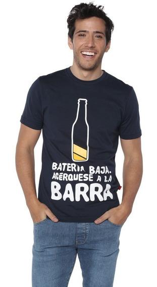 Playera Negra Chusca Divertida Cerveza Acerquese A La Barra