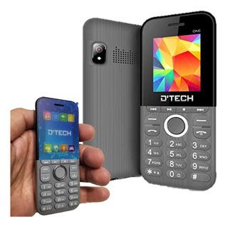 Telefono D Tech Doble Sim Liberado Radio Fm Camara Bluetooth