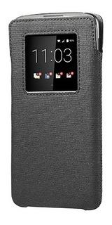 Smart Pocket Para Blackberry Dtek60 - Cinza Com Preto.