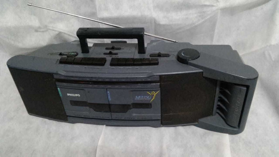 Rádio Boombox Toca Fitas K7 Portátil Rádio Ok (k7 Consertar)