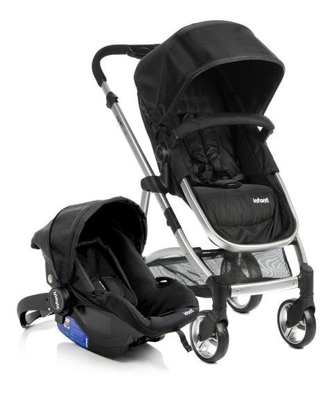 Carrinho De Bebê Travel System Epic Lite Duo - Infanti Onyx