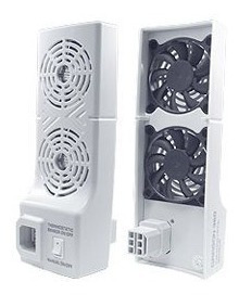 Fan Cooler Para Xbox 360 Fat Con 2 Fan Potentes Placa Jasper