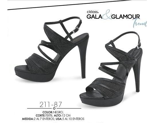 Zapatillas Cklass Negro 211-87..outlet/saldos Mchn