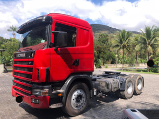 Scania 6x2 R124 420 Ano 2005/06 = 380 Volvo Fh Mb Axor 2540