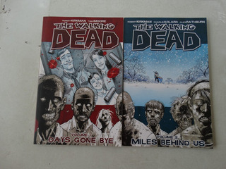 The Walking Dead Volumes 1 E 2! Image 2011! Em Inglês!