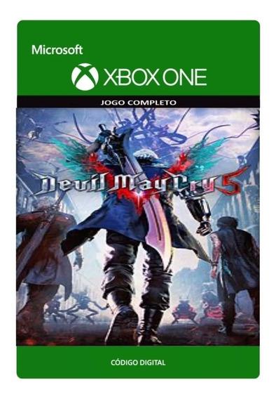 Devil May Cry 5 Xbox One Código De 25 Dígitos Original