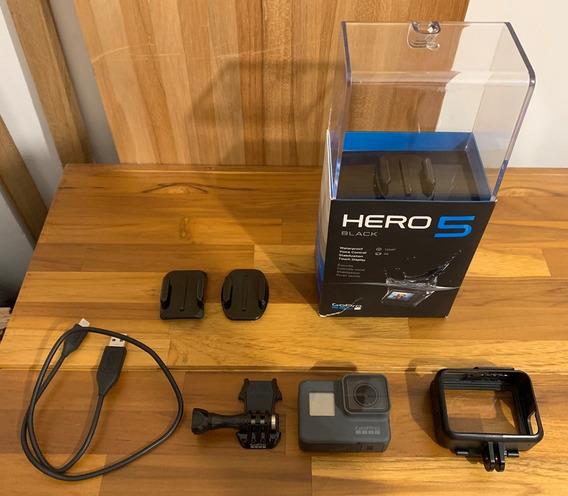 Gopro Hero 5 Black Em Perfeito Estado! Na Caixa!