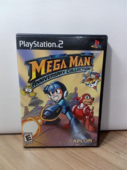 Mega Man Anniversary Collection Ps2 Original Usado