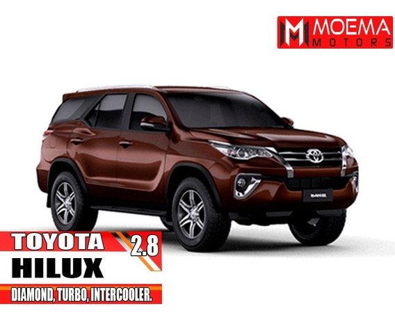 Toyota Hilux Sw4 2.8 Srx Diamond 4x4 7 Lug 16v Turbo Interc.