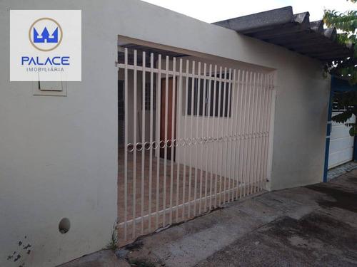 Casa À Venda Em Piracicaba, Bairro Residencial Santo Antonio - R$ 166.000,00 - Ca0823
