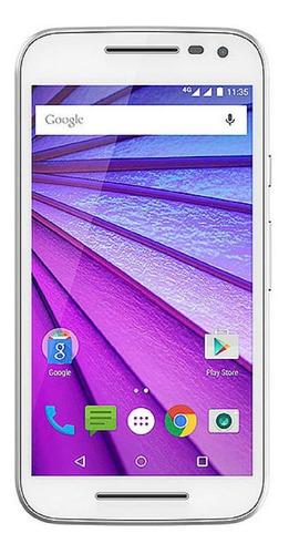 Imagem 1 de 4 de Usado: Motorola Moto G3 16gb 4g Dual Branco Bom C/nf