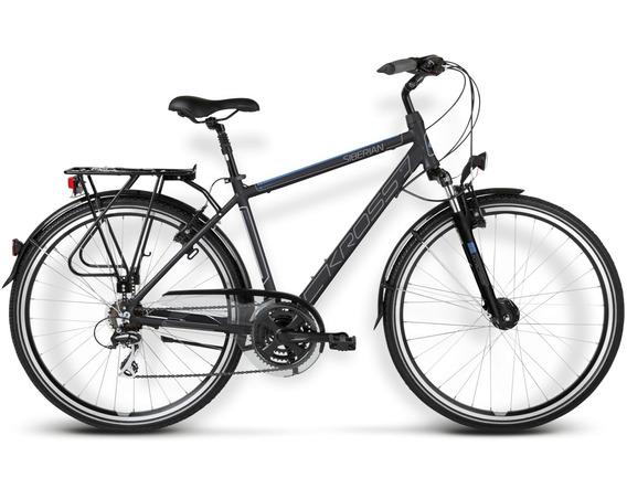 Bicicleta Kross Trans Siberian Grafito/azul Matte Md-