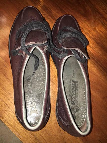 Mephisto Zapatos De Agujeta Mujer Us10 Envío Gratis Piel