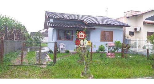 Casa Com 2 Dormitórios À Venda, 70 M² Por R$ 195.000,00 - Residencial Natureza - Balneário Arroio Do Silva/sc - Ca2120