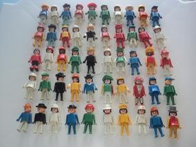 Kit Com 50 Bonecos Diversos Playmobil-divesas Cores-usado-2