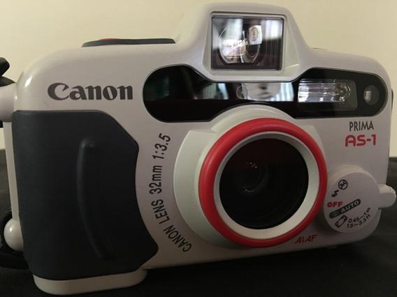 Câmera Analógica Canon Prima As-1 Sub-aquática