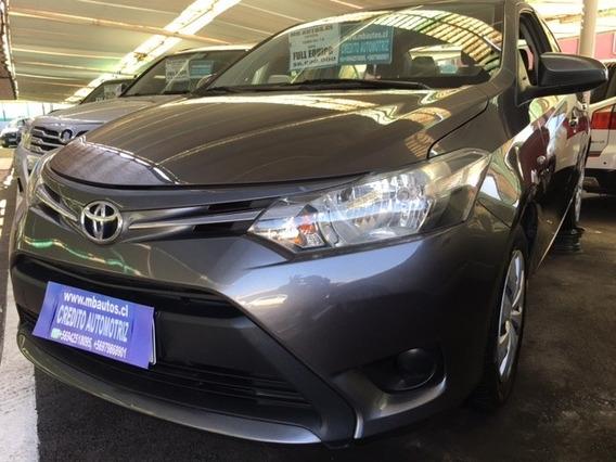 Toyota Yaris 1.5 2016, Credito Con 20% De Pie