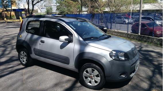 Fiat Uno Way 1.4 Flex / Duas Portas / Baixo Km / Pneus Novos