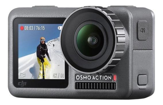 Câmera De Ação Dji Osmo Action 2.25 Touch 4k Cinza