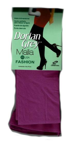 Malla Dorian Grey Modelo 3d Lisa Ajuste Perfecto