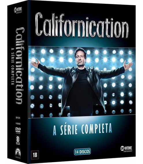 Box Dvd Californication A Série Completa - 14 Dvds Novo