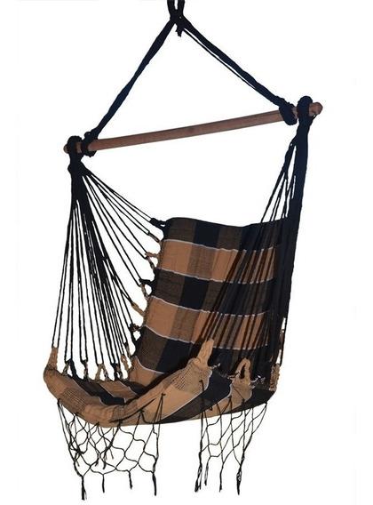 Rede Cadeira De Balanço Descanso Luxuosa Supensa Teto