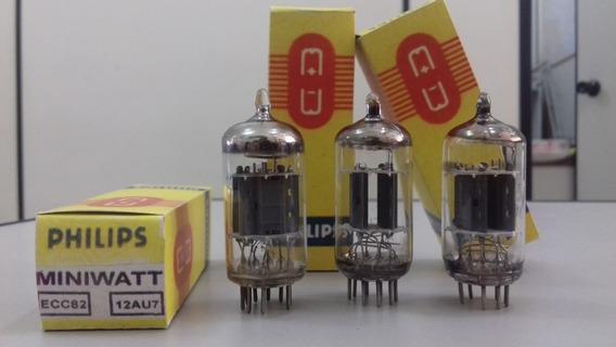 1 Valvula Eletronica Miniwatt 12au7 || Ecc82 || Cc82e | 13d8