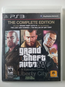Gta 4 Episodes From Liberty City Ps3 M Física Completo Ótimo