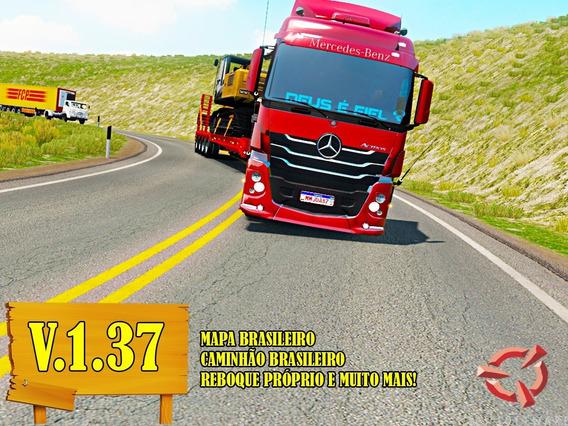 Euro Truck Simulator 2 Super Pack De Mods Brasileiro Pc