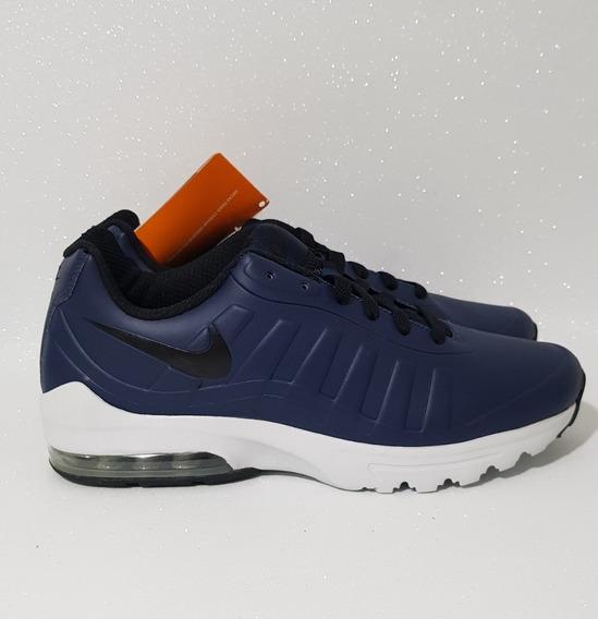Nike Am Invigor Sl Tênis Masculino Impermeável Azul Original