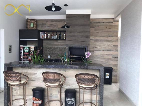 Casa Terrea Diferenciada No Condomínio Campos Do Conde 2 - Ca1855