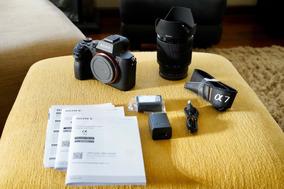 Câmera Fullframe Sony A7 Ii + Lente 28-70 Kit Novas!