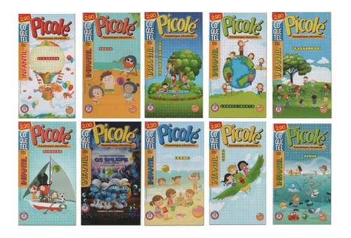 Imagem 1 de 8 de 10 Passatempos Educativos Picolé Coquetel