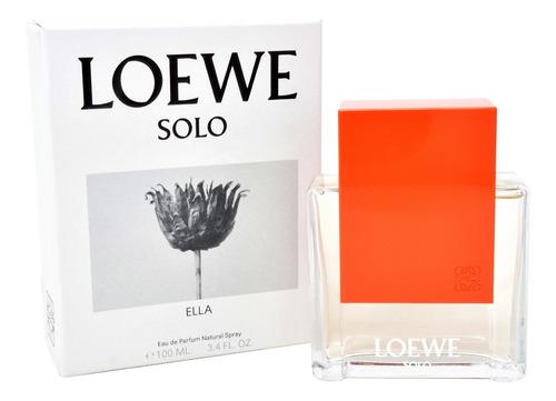 Imagen 1 de 1 de Perfume Solo Ella Loewe 100 Ml Eau De Parfum Spray