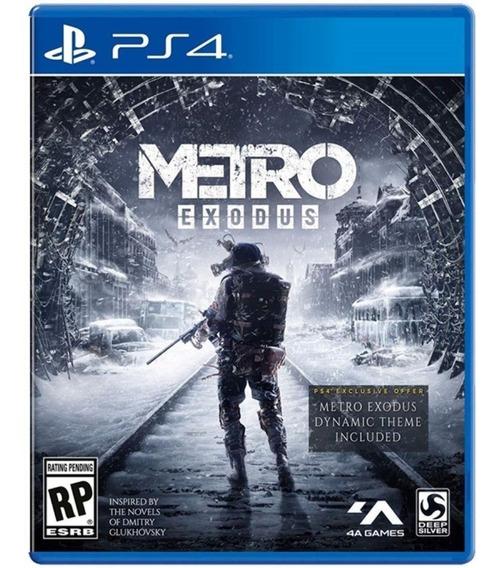 Metro Exodus - Ps4 / Mídia Física / Lacrado / Pronta Entrega