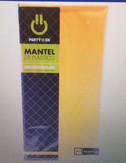 Mantel Rectangular Amarillo 1 Pz (1mtr-029)