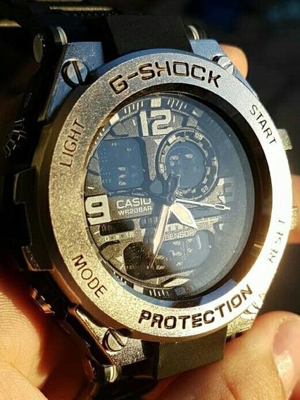 Relógio Masculino Casio G-shock Caixa De Aço Sport + Brinde