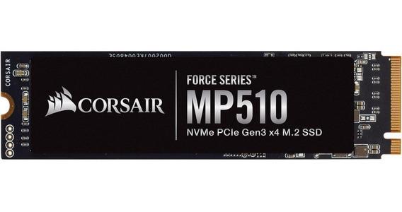 Ssd Corsair Mp510 960gb M.2 2280 Pcie Nvme 3480mb/s