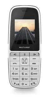 Celular Fácil Para Idoso Multilaser Up Play Bco Rádio Fm Mp3