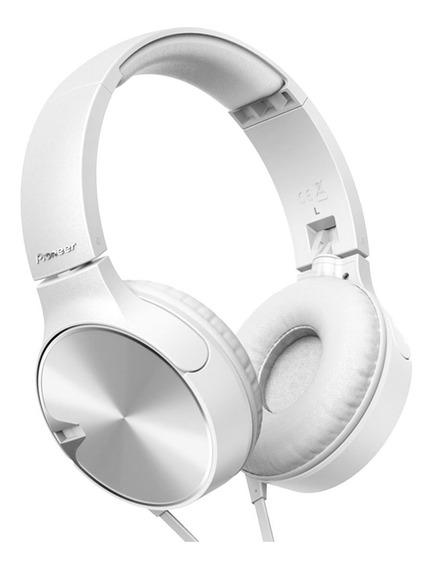 Fone De Ouvido Branco Pioneer Headphone Mj722t-w