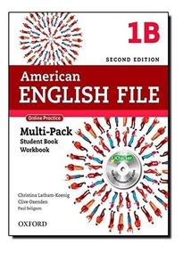 Kit American English File 1b Multi-pack Student + Work Impre