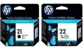 Cartuchos De Tintas Para Impresoras 21 Y 22hp Negro Y Color