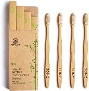Somo - Cepillo De Dientes De Bambú Natural Para Envio Gratis