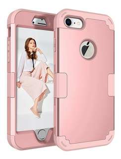 Protector 360 Reforzado Funda Híbrido iPhone 6 7 8 Plus X Xr