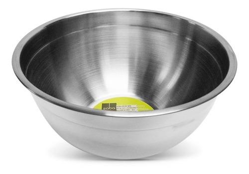 Bowl De Cocina Acero Inoxidable Saba 18 X 9 Cm.