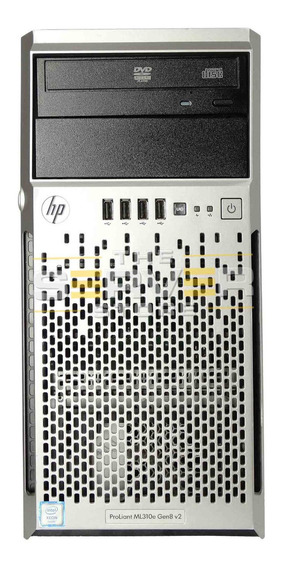 Servidor Hp Proliant Ml310e Xeon E3 1220 4gb Hd500 Completo!