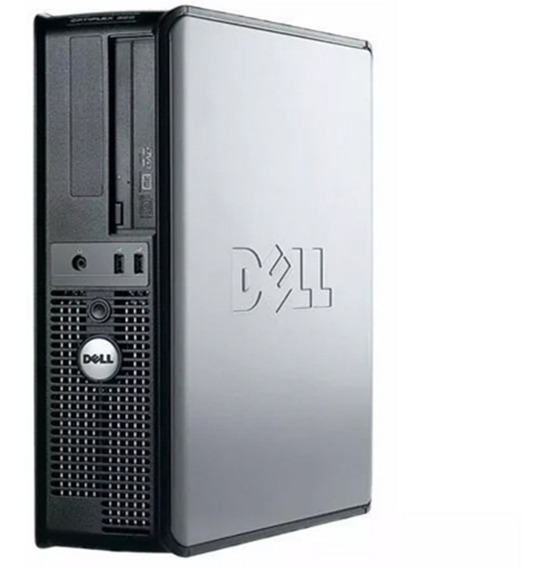 Cpu Dell Optiplex Core 2 Duo 3gb Ram Hd 160gb Computador