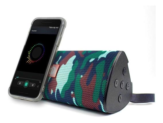 Caixinha Bluetooth Portátil Recarregável Fm Entrada Usb A6