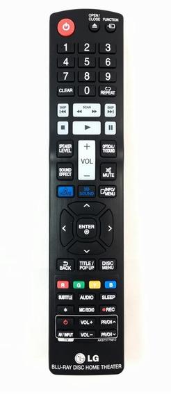 Controle Remoto Akb73775612 Blu-ray Lg Novo Original