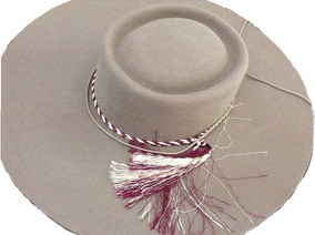 Sombrero De Huaso Paño Lana Nuevo Original